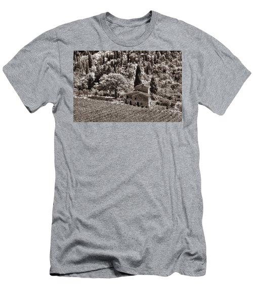 Tuscan Vinyard Men's T-Shirt (Athletic Fit)