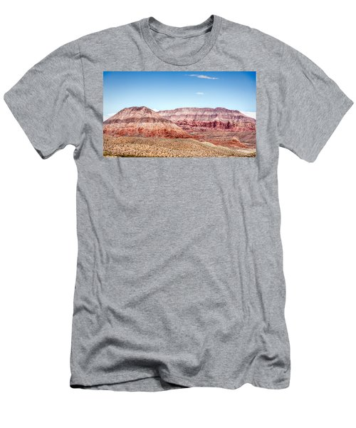 Two Layered Mountains Men's T-Shirt (Athletic Fit)