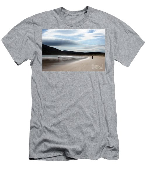 Two On A Beach Men's T-Shirt (Athletic Fit)