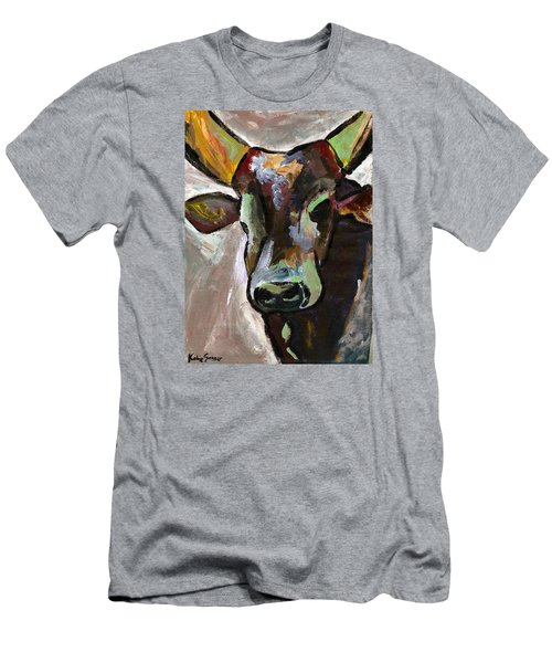 Ugandan Long Horn Cow Men's T-Shirt (Athletic Fit)