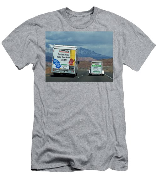 Uhaul On The Move Men's T-Shirt (Athletic Fit)