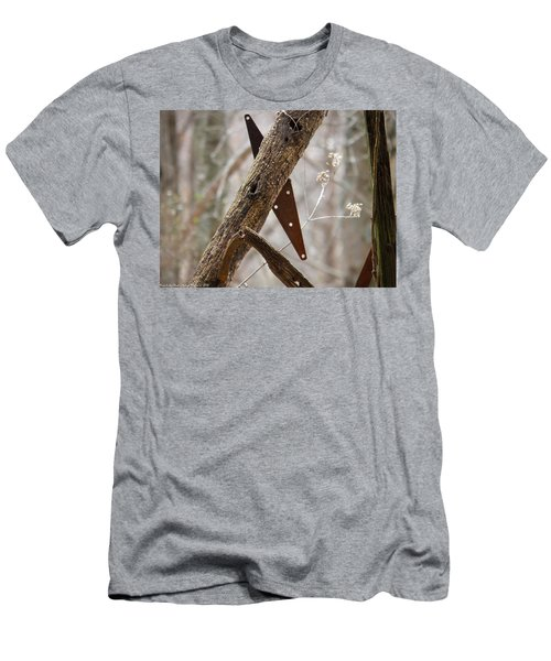 Men's T-Shirt (Slim Fit) featuring the photograph Unhinged by Nick Kirby