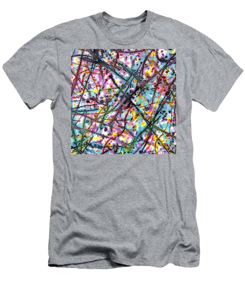The Mural Goes On And On Men's T-Shirt (Athletic Fit)