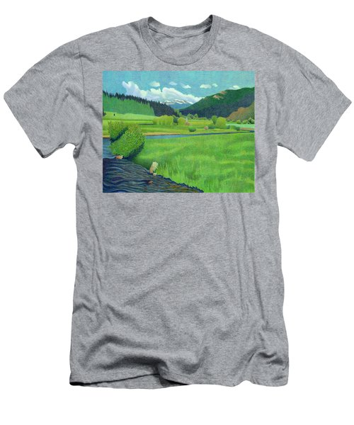 Upper Bear Creek Colorado Men's T-Shirt (Athletic Fit)
