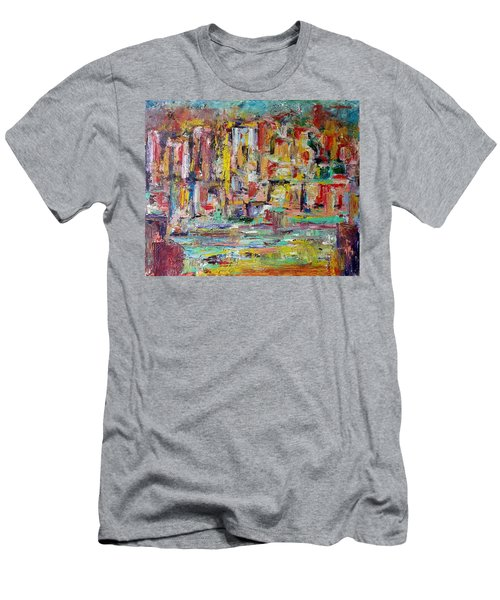 Urban Landscape Men's T-Shirt (Athletic Fit)