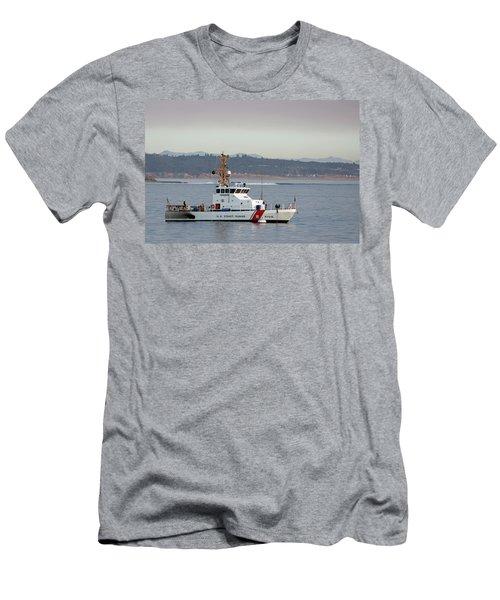 U.s. Coast Guard Cutter - Hawksbill Men's T-Shirt (Athletic Fit)