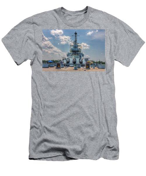 Uss North Carolina Men's T-Shirt (Athletic Fit)