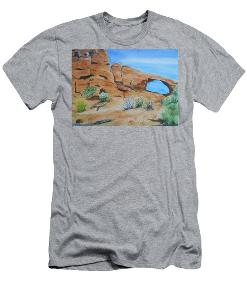 Utah - Arches National Park Men's T-Shirt (Athletic Fit)