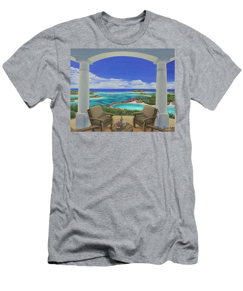 Vacation View Men's T-Shirt (Athletic Fit)