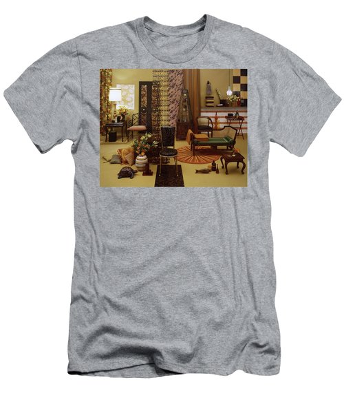 Various Tortoise Shell Furniture And Accessories Men's T-Shirt (Athletic Fit)