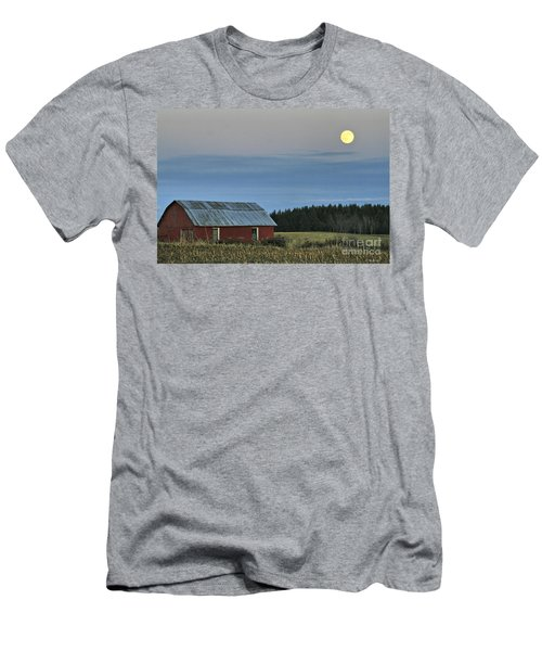 Vermont Full Moon Men's T-Shirt (Slim Fit) by Deborah Benoit