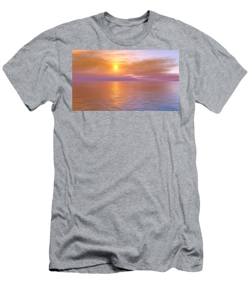 Men's T-Shirt (Slim Fit) featuring the digital art Verona Beach by Mark Greenberg