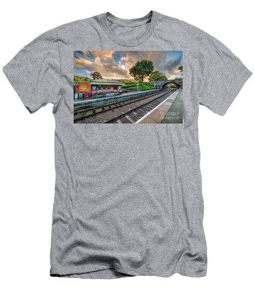 Victorian Station Men's T-Shirt (Athletic Fit)