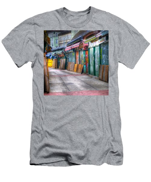 Vienna Naschmarkt Men's T-Shirt (Athletic Fit)