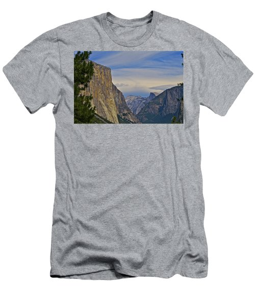 View From Wawona Tunnel Men's T-Shirt (Athletic Fit)
