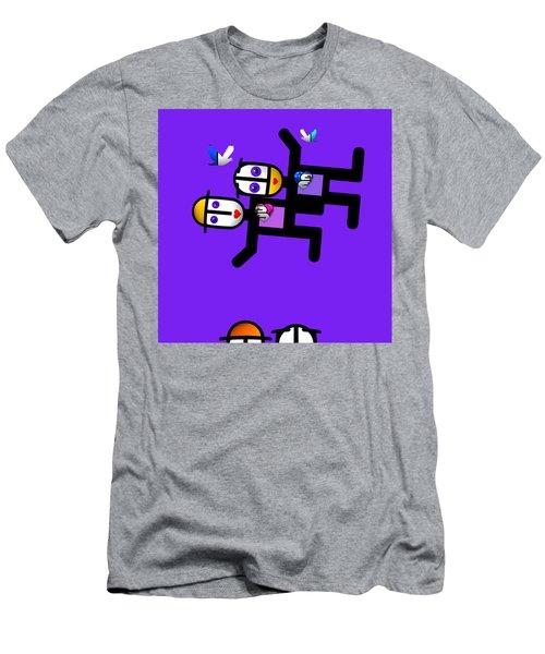 Village Life Men's T-Shirt (Athletic Fit)