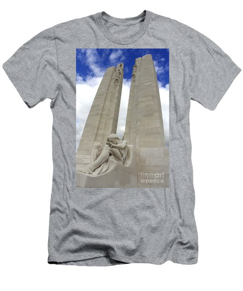 Vimy Ridge Memorial France Men's T-Shirt (Athletic Fit)