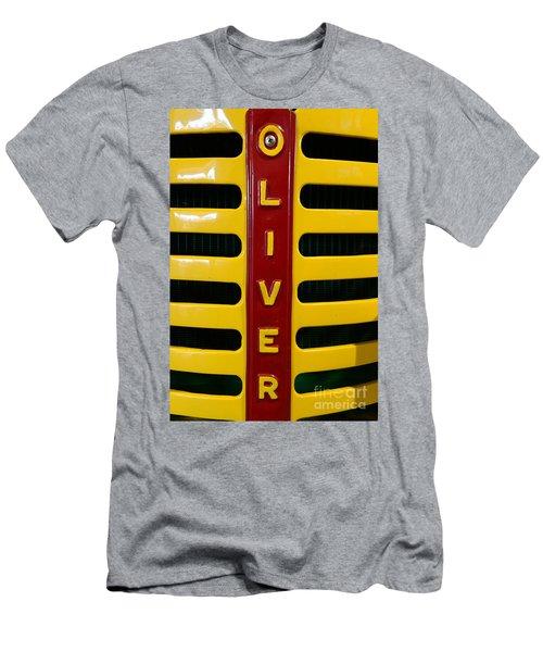 Vintage 1950 Oliver Tractor Men's T-Shirt (Athletic Fit)