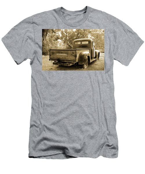 Men's T-Shirt (Slim Fit) featuring the photograph Vintage International by Steven Bateson