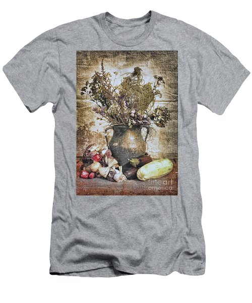 Vintage Still Life Men's T-Shirt (Athletic Fit)