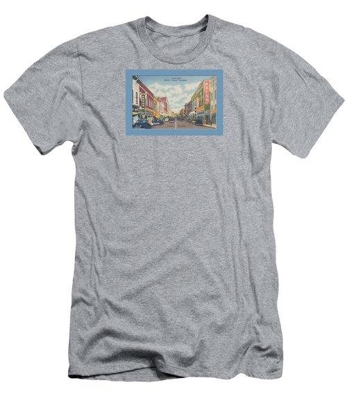 Vintage Va Tn Postcard Kress  Men's T-Shirt (Athletic Fit)