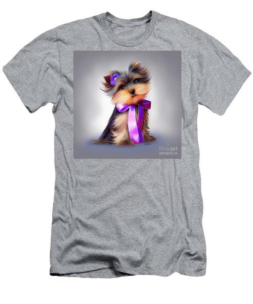 Violet  Men's T-Shirt (Slim Fit) by Catia Cho