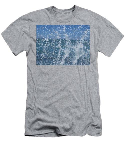 #waikiki Backsplash Men's T-Shirt (Athletic Fit)