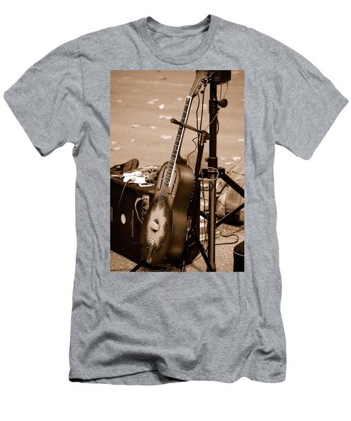 Waiting To Be Played Men's T-Shirt (Slim Fit)