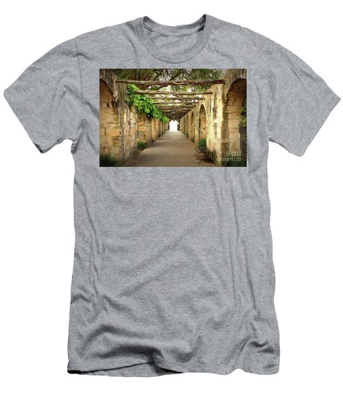 Walk To The Light Men's T-Shirt (Athletic Fit)