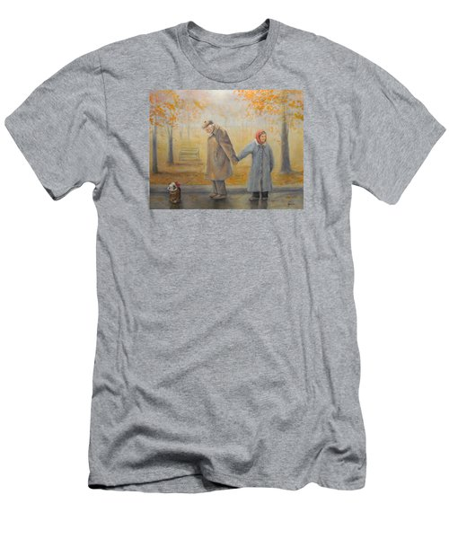 Walking Miss Daisy Men's T-Shirt (Athletic Fit)