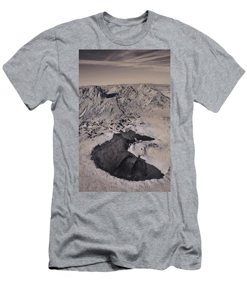 Walking On The Moon Men's T-Shirt (Athletic Fit)