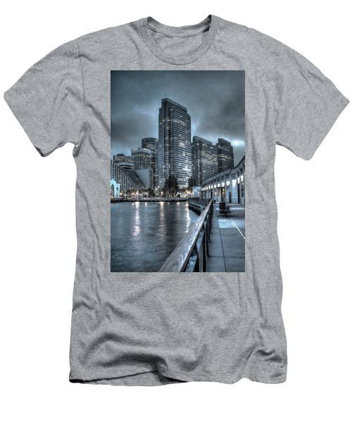 Walking The Embarcadero San Francisco Men's T-Shirt (Athletic Fit)