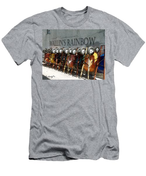 Wallin's Rainbow Men's T-Shirt (Athletic Fit)
