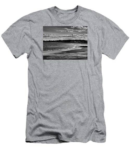 Wallis Beach Men's T-Shirt (Slim Fit) by Marcia Lee Jones