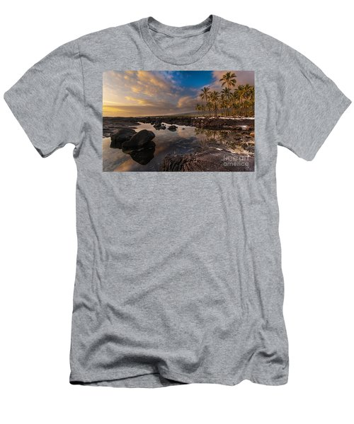 Warm Reflected Place Of Refuge Skies Men's T-Shirt (Athletic Fit)
