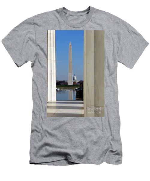 Washington Landmarks Men's T-Shirt (Athletic Fit)