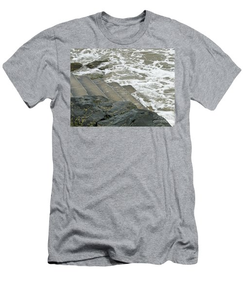 Men's T-Shirt (Slim Fit) featuring the photograph Watch Your Step by Brenda Brown