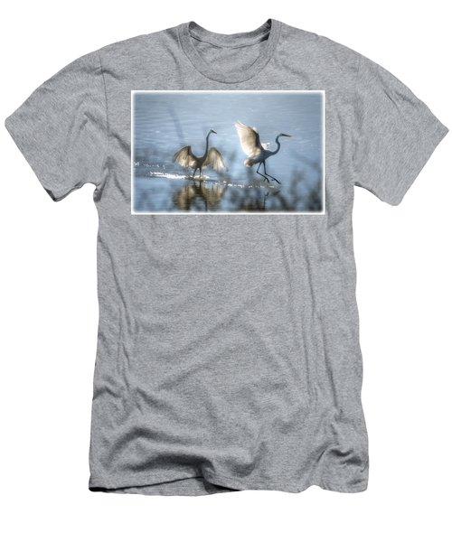 Water Ballet  Men's T-Shirt (Athletic Fit)
