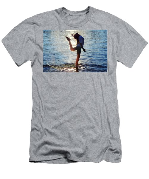 Water Dancer Men's T-Shirt (Athletic Fit)