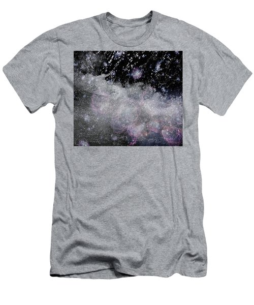 Water Flowing Into Space Men's T-Shirt (Athletic Fit)