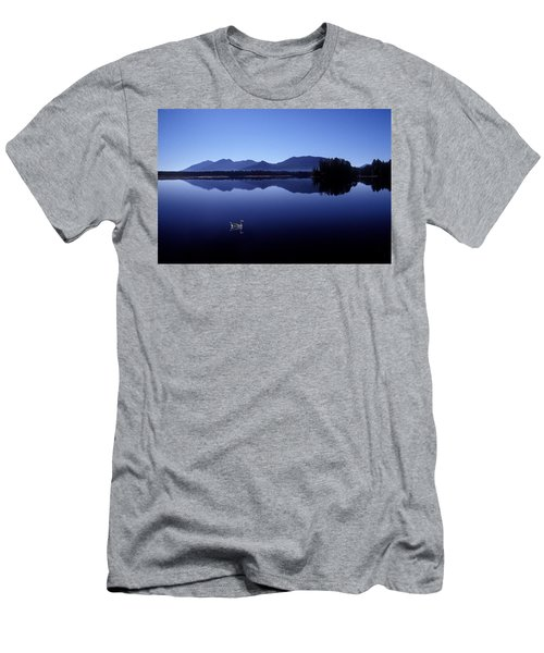 Water Mirror Men's T-Shirt (Athletic Fit)