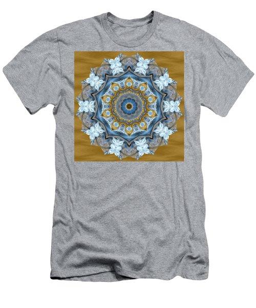 Water Patterns Kaleidoscope Men's T-Shirt (Athletic Fit)