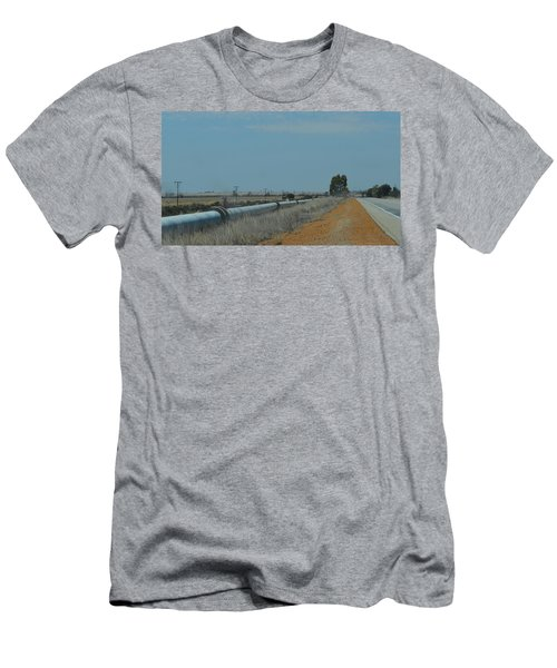 Water Pipeline Men's T-Shirt (Athletic Fit)