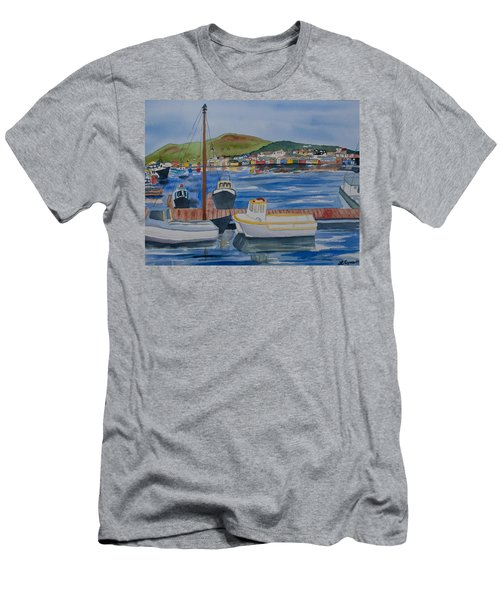 Watercolor - Dingle Ireland Men's T-Shirt (Athletic Fit)