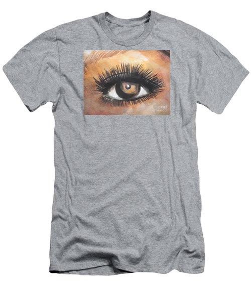 Watercolor Eye Men's T-Shirt (Athletic Fit)