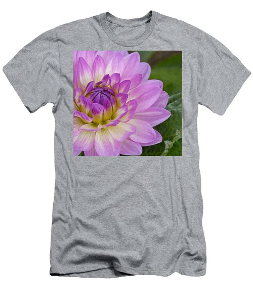 Waterlily Dahlia Men's T-Shirt (Athletic Fit)