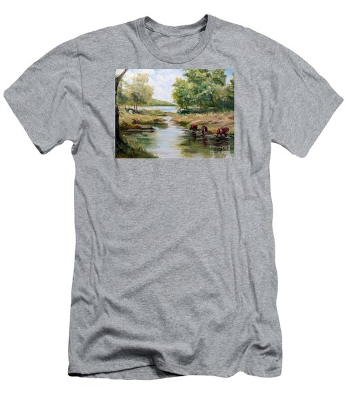 Waterloo Men's T-Shirt (Athletic Fit)