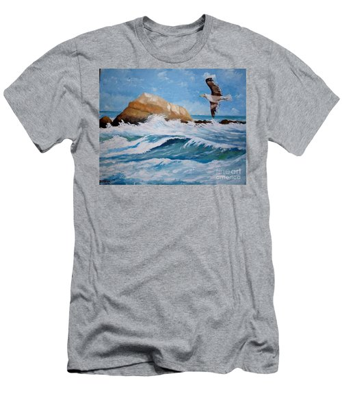 Waves Of The Sea Men's T-Shirt (Athletic Fit)