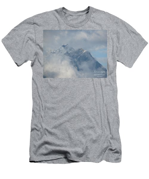 Men's T-Shirt (Slim Fit) featuring the photograph Way Up Here by Greg Patzer