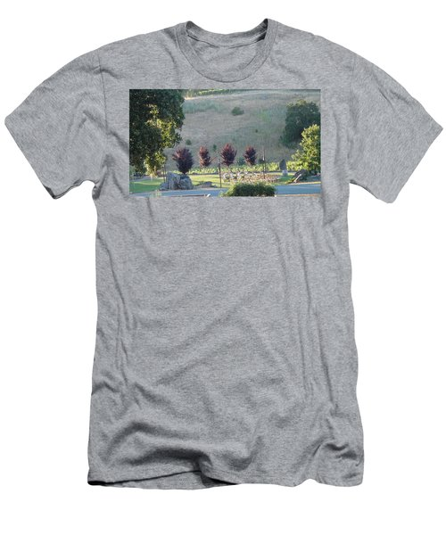 Men's T-Shirt (Slim Fit) featuring the photograph Wedding Grounds by Shawn Marlow